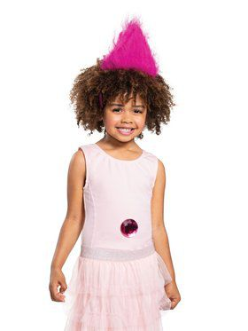 Pink Trolls Child Headband With Gem