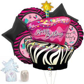 Pink Zebra Boutique Balloon Kit (Each)