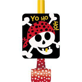 Pirate Birthday Blowouts (8-pack)