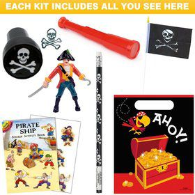 Pirate Birthday Party Favor Kit