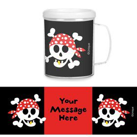 Pirate Birthday Personalized Favor Mugs (Each)