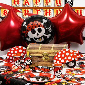 Pirate Birthday Ultimate Box Serves 8 Guests