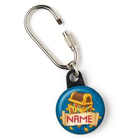 "Pirate Friends Personalized 1"" Carabiner (Each)"