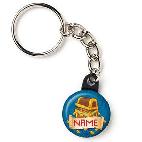 "Pirate Friends Personalized 1"" Mini Key Chain (Each)"