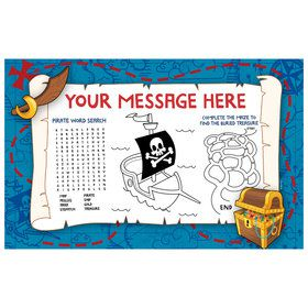 Pirate Friends Personalized Activity Mat (8 Count)