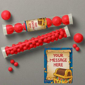 Pirate Friends Personalized Candy Tubes (12 Count)