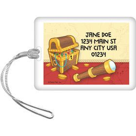 Pirate Friends Personalized Luggage Tag (Each)