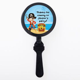 Pirate Personalized Clappers (Set of 12)