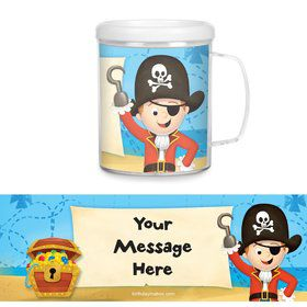 Pirate Personalized Favor Mugs (Each)