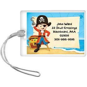 Pirate Personalized Luggage Tag (each)