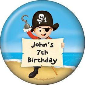 Pirate Personalized Magnet (each)