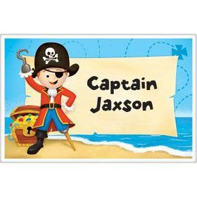 Pirate Personalized Placemat (each)