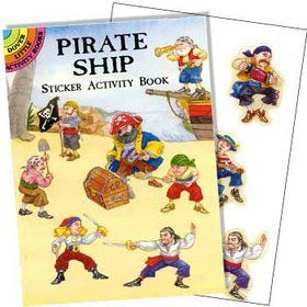 Pirate Sticker Book (each)