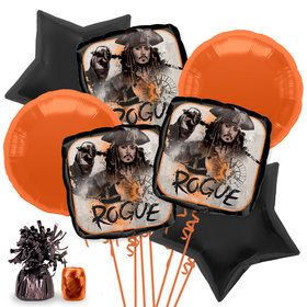 Pirates of the Caribbean Balloon Bouquet Kit