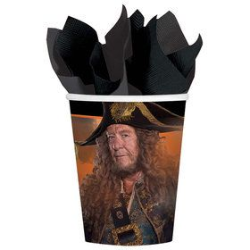 Pirates of the Caribbean Paper 9oz. Cups (8 Count)