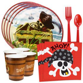 Pirates Standard Tableware Kit (Serves 8)