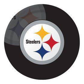 "Pittsburgh Steelers 9"" Luncheon Plates (8 Count)"