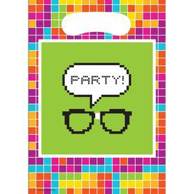 Pixel Glasses Loot Bags (8 Count)
