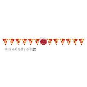 Pizza Party Birthday Banner Kit (1)
