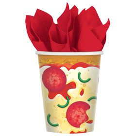Pizza Party Cups (8)