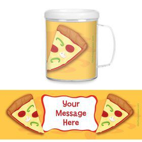 Pizza Party Personalized Favor Mugs (Each)