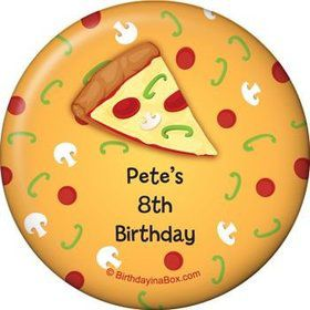 Pizza Party Personalized Magnet (each)