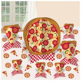 Pizza Party Table Decorating Kit (1)