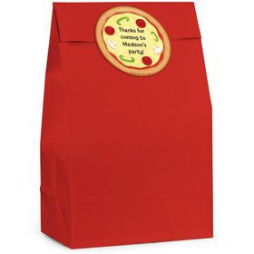 Pizza Personalized Favor Bag (Set Of 12)