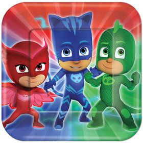 "PJ Masks 9"" Luncheon Plates (8 Count)"