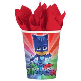 PJ Masks 9oz Paper Cups (8 Count)