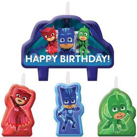 PJ Masks Birthday Candle Set