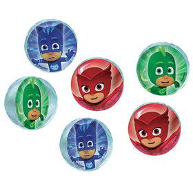 PJ Masks Bounce Balls (6 Count)