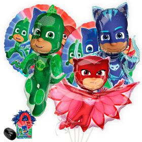 PJ Masks Deluxe Balloon Bouquet Kit
