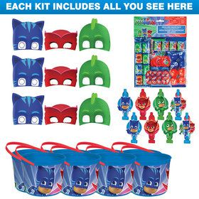 PJ Masks Deluxe Favor Kit (For 8 Guests)