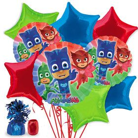 PJ Masks Deluxe Star Balloon Bouquet Kit