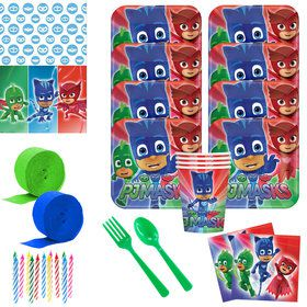 PJ Masks Deluxe Tableware Kit (Serves 8)