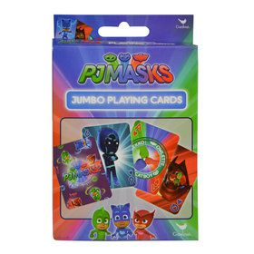 PJ Masks Jumbo Card Game (Each)