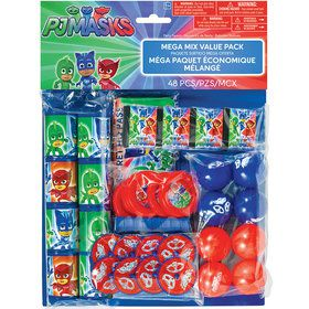 PJ Masks Mega Mix Value Favor Pack (48 Pieces)