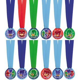 PJ Masks Mini Award Medals (12 Pack)