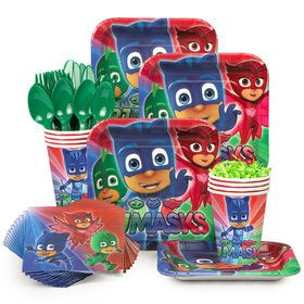 PJ Masks Standard Tableware Kit (Serves 8)