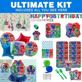 PJ Masks Ultimate Tableware Kit (Serves 8)