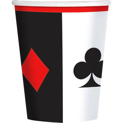 Place Your Bets 9Oz Cups (8 Pack) BB581227