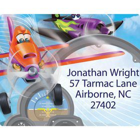 Planes Personalized Address Labels (Sheet of 15)