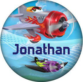 Planes Personalized Button (Each)