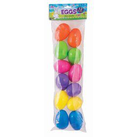 Plastic Fillable Easter Eggs