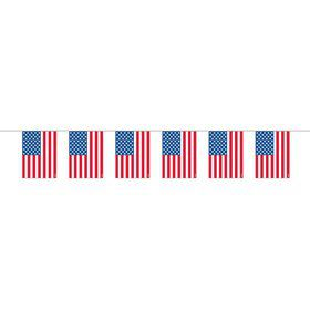 Plastic Flag Garland (Each)