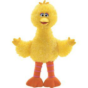 PLUSH BIG BIRD