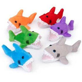 Plush Shark (each)