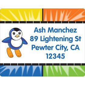 Pocket Monster Personalized Address Labels (Sheet of 15)