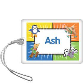 Pocket Monsters Personalized Bag Tag (each)